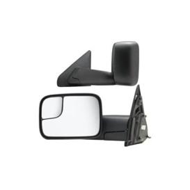 Buy K-Source 60113-14C 1 Pair Foldaway Mirrors - Black - Towing Mirrors