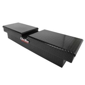 Buy DeeZee DZ8370B Red Label Double Lid Chest Fullsize Pickup Black - Tool