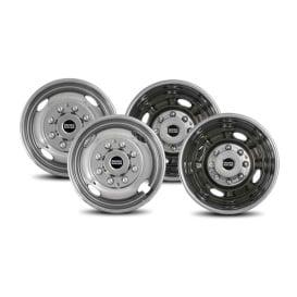 "Buy Pacific Dualies 39-1608 2F & 2R Lug Wheel Skins 16"" - Wheels and Parts"