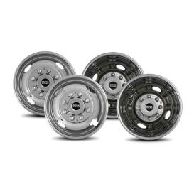 Buy Pacific Dualies 39-1658 2F & 2R Lug Wheel Skins 16.5 - Wheels and