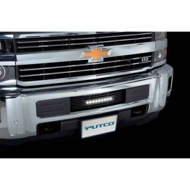 Chev HD Black Grille Curved 10""
