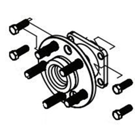 Buy Demco 04369 Hub/Spindle 5-Bolt On 115 - Tow Dollies Online|RV Part