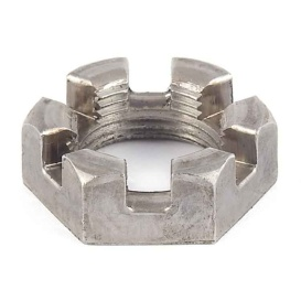 """Buy AP Products 014-122081 6 Slot Spindle Nut 1"""" -14 UNS - Axles Hubs and"""