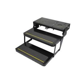 Buy Lippert 372261 Kwikee Double Electric Step-Black Series 32 w/Motor
