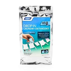 Laundry Detergent Drop-In, Pack of 45