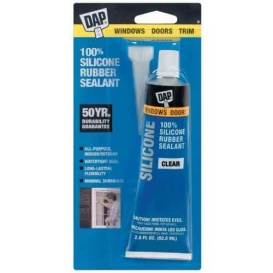 Buy DAP 00753 100% Silicone W & D Clear - Glues and Adhesives Online|RV