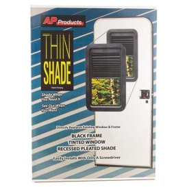 Buy AP Products 015-201502 Slim Shade Replacement Shade Only Black - Doors