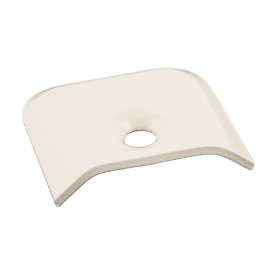 Buy AP Products 021-39204 End Cap- Colonial White (10/Ctn) - Hardware