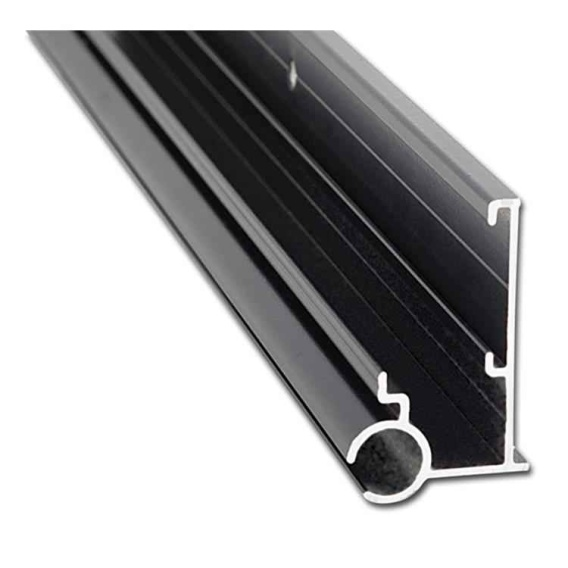 Buy AP Products 021563028 Insert Gutter Awning Rail Black 8' - Patio