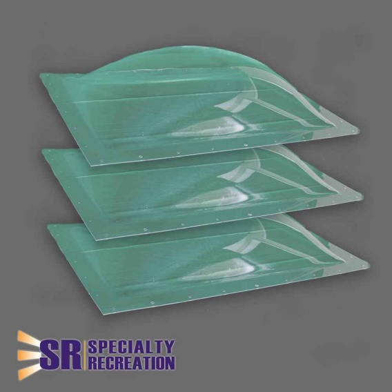 """Buy Specialty Recreation SP1422C Skylight 3-Pack Clear 14""""x22"""""""