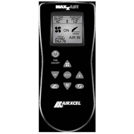 Buy Maxxair Vent 00A01150K Hand Held Remote Black Exhaust Only - Exterior