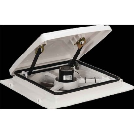 Buy Maxxair Vent 00A04301K 4-Speed White Lid Manual - Exterior Ventilation