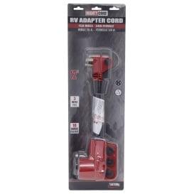 "Buy Valterra A10-1550VP Adapter Cord 12"" Red C - Power Cords Online|RV"