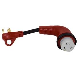 Buy Valterra A10-3050D90 90 Deg LED Detach Adapter - Power Cords Online RV