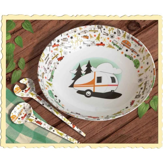 Buy Camp Casual CC-003 MELAMINE BOWL AND SERVES - Kitchen Online RV Part