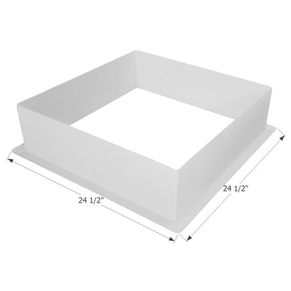 Buy Icon 12213 Skylight Garnish SL2222 - Polar White - Skylights Online RV