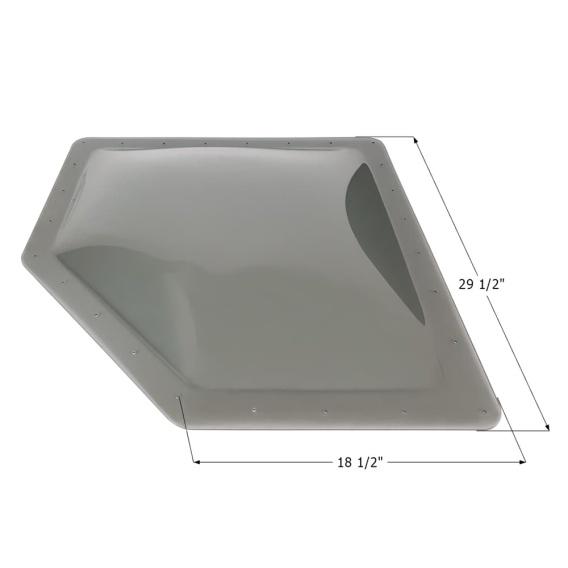 Buy Icon 12207 RV Skylight NSL2615 - Smoke - Skylights Online|RV Part Shop