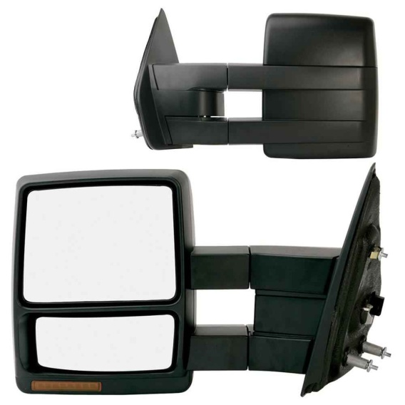 Buy K-Source 61185-86F L & R Towing Mirrors Heated/Power & Signal - Towing