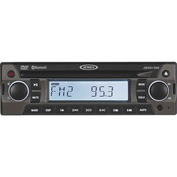 Buy ASA Electronics JDVD1500 AM/FM/CD/DVD Player w/Front Aux-In - Audio CB