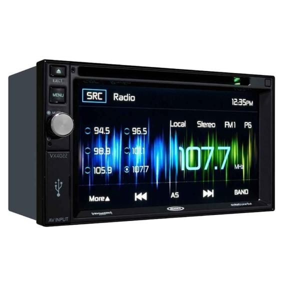 "Buy ASA Electronics VX4022ARTL Jensen Double Din 6.2"" Radio - Audio CB &"