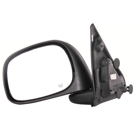 Buy CIPA-USA 46432 Replacement Side Mirror New Style Black Electric Heated
