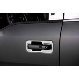 Buy Putco 401064 Door Handle Covers 15 F150 4 Dr - Chrome Trim Online|RV