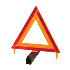 DOT WARNING TRIANGLE -WEIGHTED