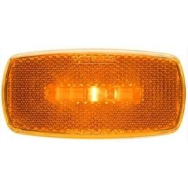Buy Optronics MCL0032ABB LED Clearance/Marker Light Oval Black Base Amber