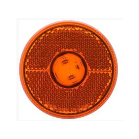 Buy Optronics MCL0039ABB LED 2 1/2 Clearance/Marker Light Amber Reflex
