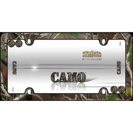 Buy Cruiser Accessories 23095 LICENCE PLATE FRAME CAMO - Exterior
