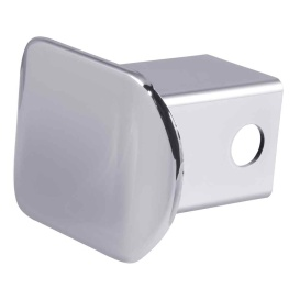 """Buy Curt Manufacturing 22170 2"""" Chrome Plastic Hitch Tube Cover - Receiver"""