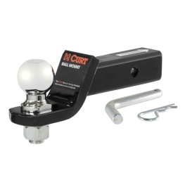 """Loaded Ball Mount with 2-5/16"""" Ball (2"""" Shank, 7,500 lbs., 2"""" Drop)"""