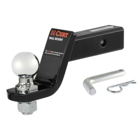 """Loaded Ball Mount with 2-5/16"""" Ball (2"""" Shank, 7,500 lbs., 4"""" Drop)"""