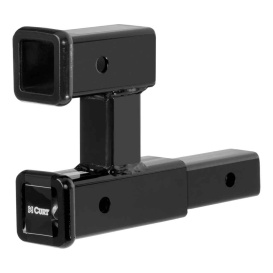 """Buy Curt Manufacturing 45792 Dual Receiver Extender (2"""" Shank, 3,500 lbs."""