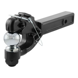 """Buy Curt Manufacturing 48006 Receiver-Mount Ball & Pintle Combo (2"""" Shank"""