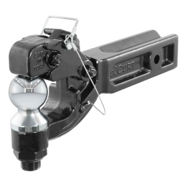 """Buy Curt Manufacturing 48012 Receiver-Mount Ball & Pintle Combo (2-1/2"""""""