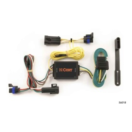 Buy Curt Manufacturing 56018 Custom Wiring Harness (4-Way Flat Output) -