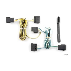 Buy Curt Manufacturing 56020 Custom Wiring Harness (4-Way Flat Output) -