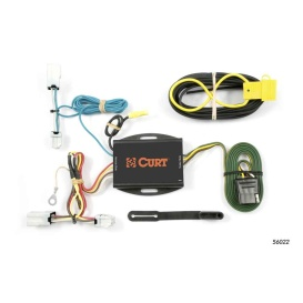Buy Curt Manufacturing 56022 Custom Wiring Harness (4-Way Flat Output) -