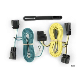 Buy Curt Manufacturing 56027 Custom Wiring Harness (4-Way Flat Output) -