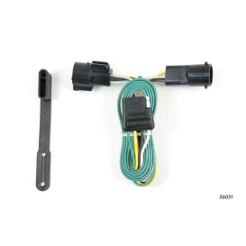 Buy Curt Manufacturing 56031 Custom Wiring Harness (4-Way Flat Output) -