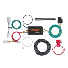 Buy Curt Manufacturing 56033 Custom Wiring Harness (4-Way Flat Output) -