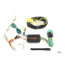Buy Curt Manufacturing 56035 Custom Wiring Harness (4-Way Flat Output) -