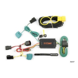 Buy Curt Manufacturing 56037 Custom Wiring Harness (4-Way Flat Output) -