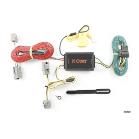 Buy Curt Manufacturing 56045 Custom Wiring Harness (4-Way Flat Output) -