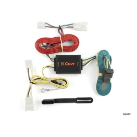 Buy Curt Manufacturing 56049 Custom Wiring Harness (4-Way Flat Output) -