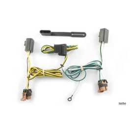 Buy Curt Manufacturing 56056 Custom Wiring Harness (4-Way Flat Output) -