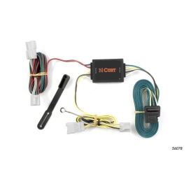 Buy Curt Manufacturing 56078 Custom Wiring Harness (4-Way Flat Output) -