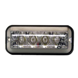 Buy Buyers Products 8891004 LIGHT,STROBE,4-7/8IN RECT,4LED,AMBE -