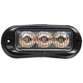 Buy Buyers Products 8891120 LIGHT,STROBE,3-7/8IN,3 LED, AMBER, - Emergency